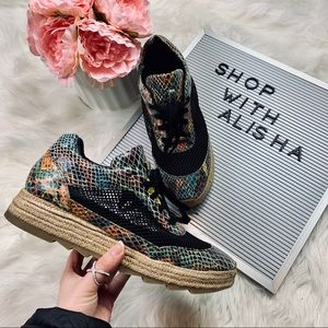 Stella McCartney Vegan Leather Platform Sneakers